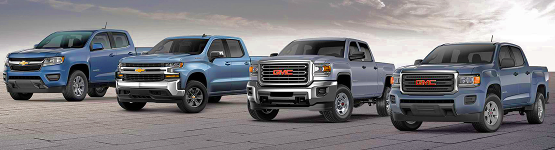 Chevy and GMC Trucks Banner