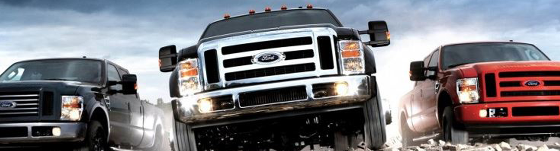 Ford Gas Trucks Banner