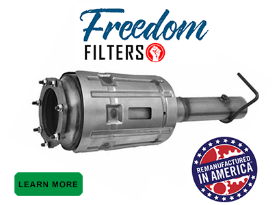 Freedom Filter DPF Replacements