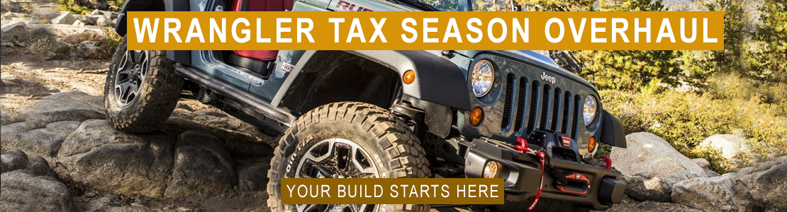 Jeep Tax Season Banner