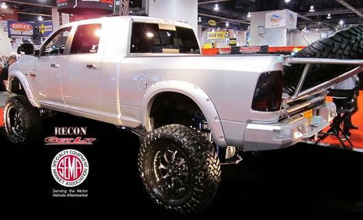 Dodge Ram 1500 2009-2012 + 2500/3500 2010-13 Recon Smoked ...