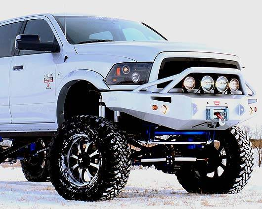 Dodge Ram 1500 2009 2012 2500 3500 2010 13 Recon Smoked