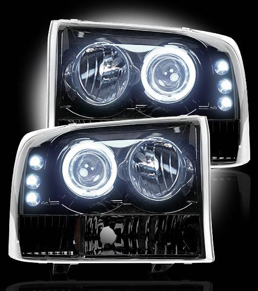 99 ford f250 super duty headlights