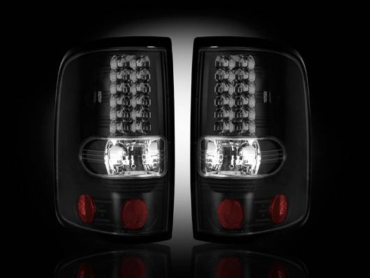 Ford F-150 2004-08 Recon Smoked Headlights & Tail Lights ...