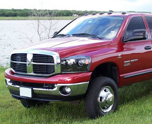 2007 2009 Dodge Ram 3500 Dually Recon Smoked Headlights
