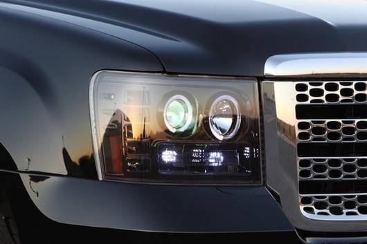 Gmc Sierra 2007 14 Recon Smoked Headlights Amp Tail Lights
