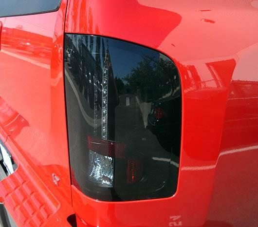 GMC Sierra 2007-14 Recon Smoked Headlights & Tail Lights