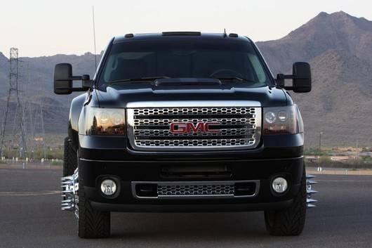 Gmc Sierra 3500 Dually 2007 14 Recon Smoked Headlights