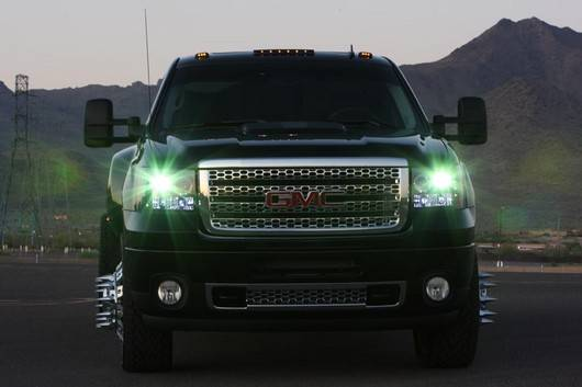 Gmc Sierra 2007 14 Recon Smoked Headlights W Ccfl Halos