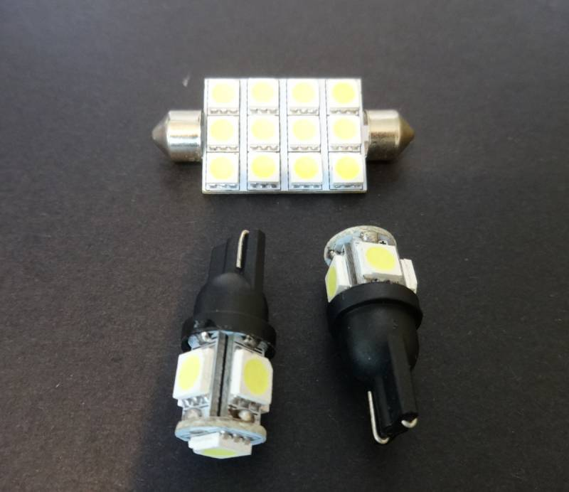 Interior Led Dome Lights For 2009 13 Dodge Ram 1500 Amp 2010