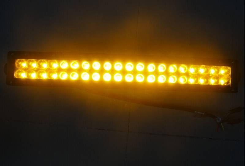Amber White Switchback Light Bar