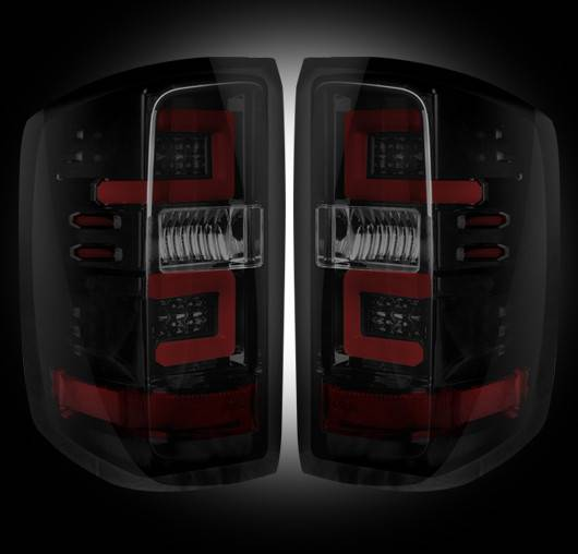 silverado tail lights led smoked 1500 headlights chevrolet chevy light gmc sierra recon 3rd gen gm 2500 projector package accessories