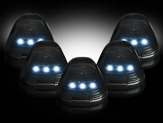 Recon 264143whbk Ford Superduty 99 16 Led Cab Roof Lights