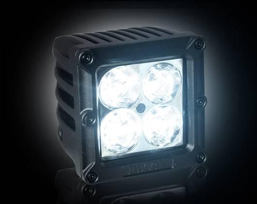 Recon 264511cls Square 3 Quot Cree Led Spot Light Pod