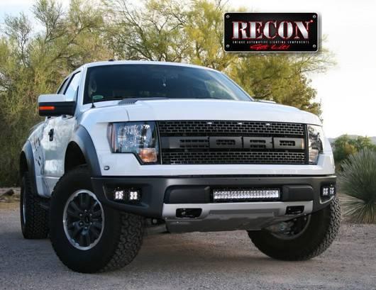 Recon 264512RPTR - 80-WATT LED DRIVING / FOG LIGHT KIT ...