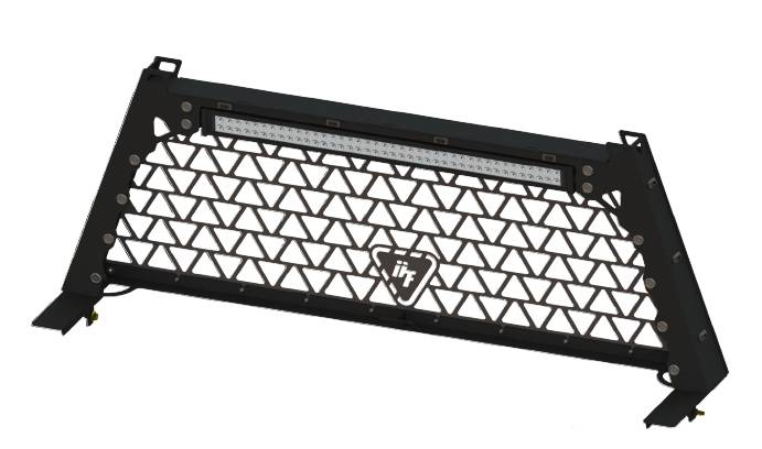 Dtf Headache Rack W 42 Quot Led Light Bar For 2003 14 Ram Trucks