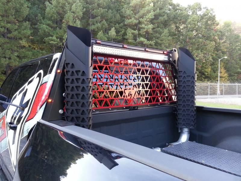 Dtf Headache Rack W 42 Led Light Bar For 2004 15 Ford F 150 Trucks