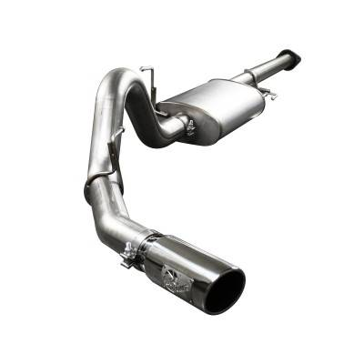 Mach Force Xp Stainless Cat Back Exhaust System Ford F 150 3 5l