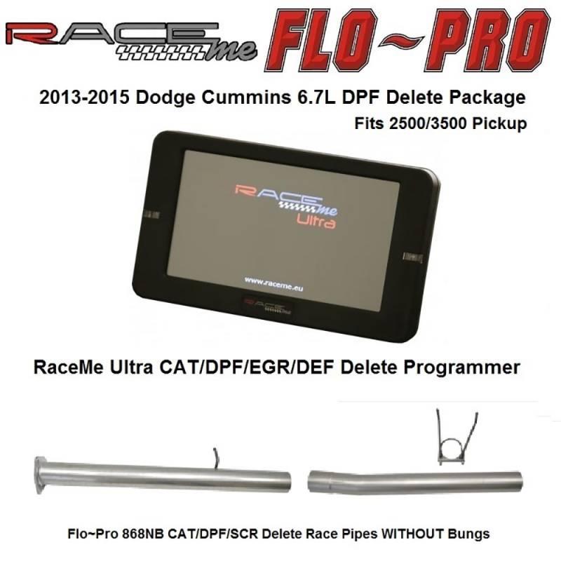 Raceme Ultra Flo Pro Cat Dpf Scr Delete Race Pipe Package