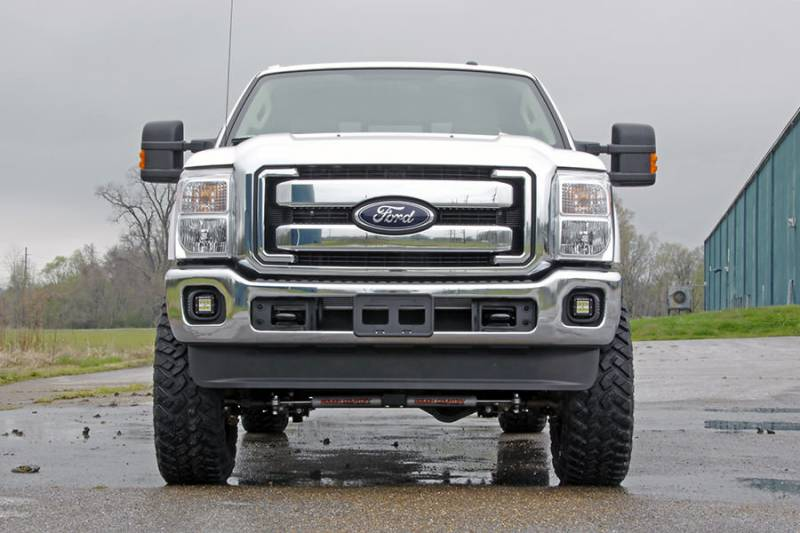 Rough Country 2 Inch Cree Led Fog Light Kit 2011 2016 F