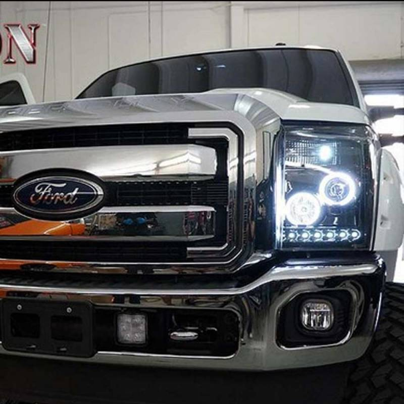 Recon Platinum Smoked Lighting Package 2011 2016 Ford
