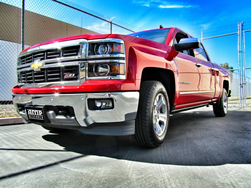 2015 Chevrolet Silverado 1500 Double Cab >> Amp Research PowerStep™ | 2014-2017 GM 1500 & 2015-2016 GM ...