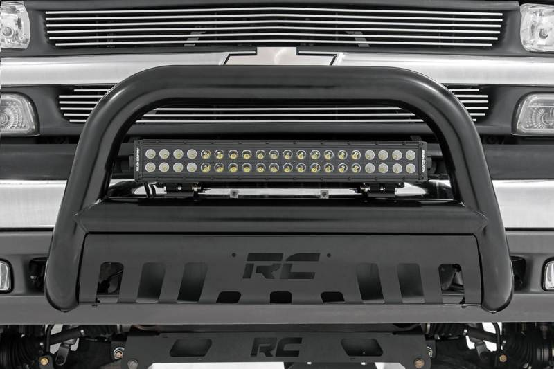 Rough country 20 inch cree led light bar dual row black series rough country 20 inch cree led light bar dual row black series dales super store aloadofball Choice Image