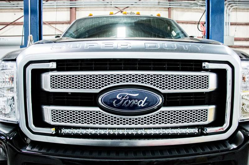 Rough Country 30 Inch Cree Led Grille Kit Dual Light Setup