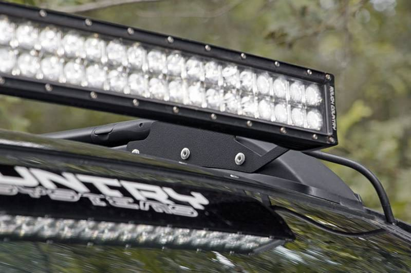 Rough Country 40 Inch Curved Led Light Bar Roof Rack
