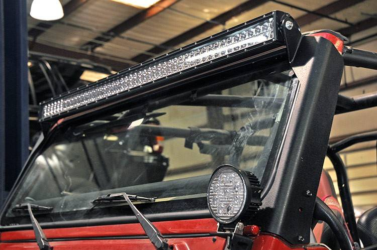Rough Country 50 Inch Straight Led Light Bar Upper