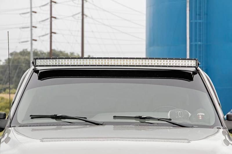 Rough Country 54-Inch Curved LED Light Bar Upper ...