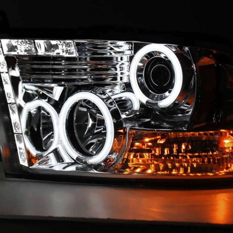 spyder smoke ccfl halo projector led headlights 2009. Black Bedroom Furniture Sets. Home Design Ideas