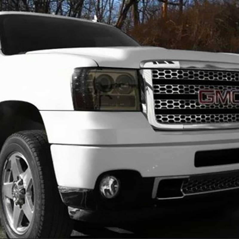 What Does Chevy Stand For >> Spyder Smoke Halo Projector LED Headlights | 2007-2014 Chevy Silverado