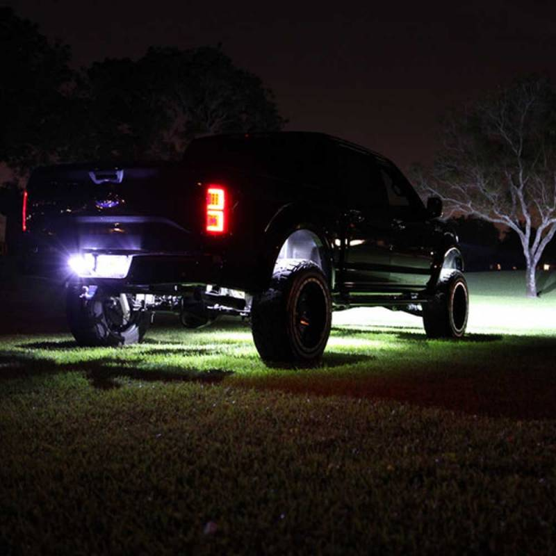 Recon Smoked Led Tail Lights 2015 2017 Ford F150 Dale