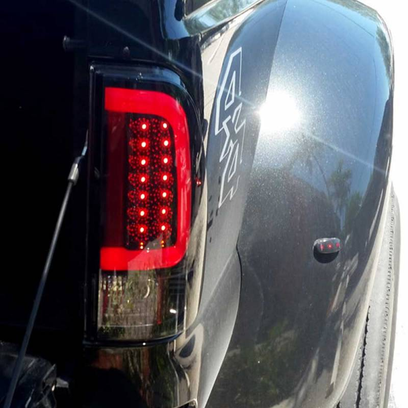 RECON Red LED Tail Lights | 2008-2016 Ford Super Duty ...