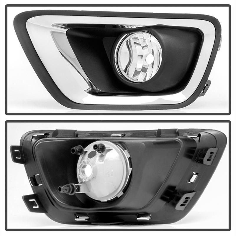 Spyder Clear OEM Fog Lights w/Switch | 2015-2017 2.8L Chevy Colorado Duramax LWN | Dale's Super ...