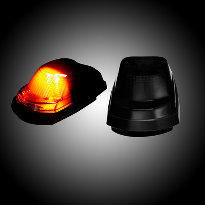 RECON Smoked LED Cab Roof Lights w/Amber LED's | 2017-2018 ...