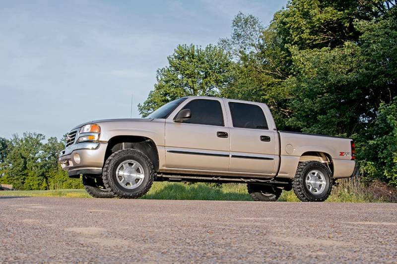 Rough Country 1.5-2.5 In Leveling Lift Kit for 1999-2007 ...