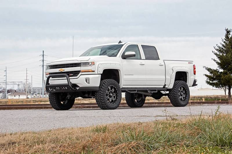Rough Country 7 In Suspension Lift Kit For Chevrolet 14 15