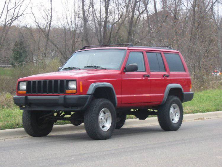 2001 jeep cherokee xj lift kits