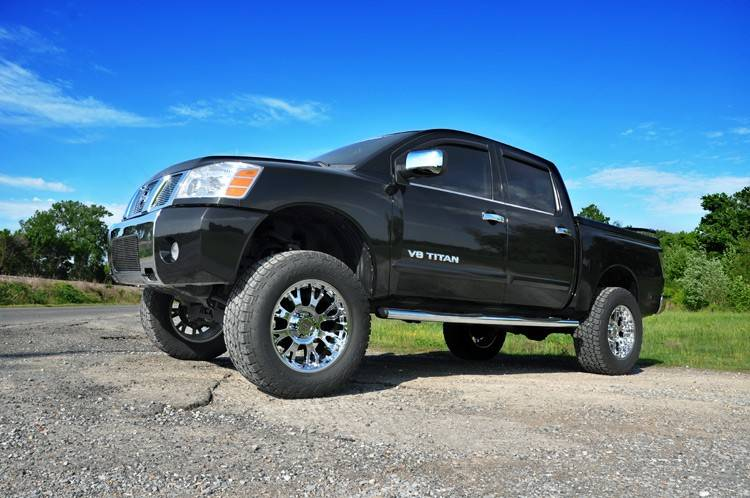 Lifted Nissan Titan >> Rough Country 6 In Suspension Lift Kit for 2004-2015 Nissan Titan | 875.20