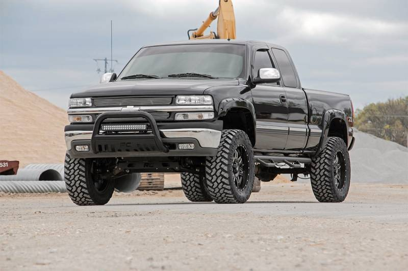 6 Inch Lift Kit For Chevy Silverado 1500 >> Rough Country 6 In Non-Torsion Drop Suspension Lift Kit ...