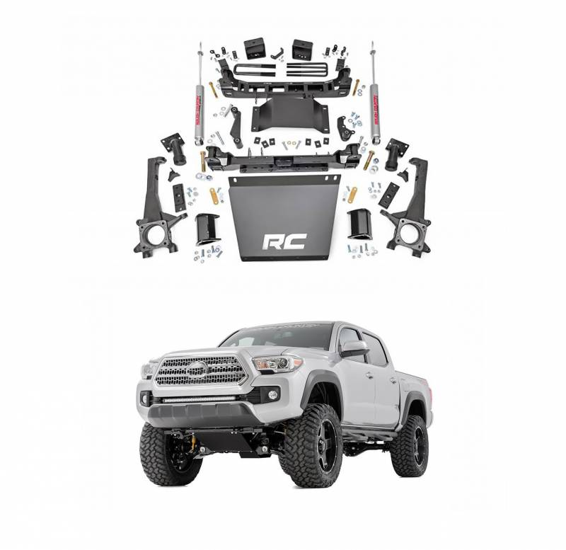 Rough Country 6 In Suspension Lift Kit for 2005-2015 Toyota