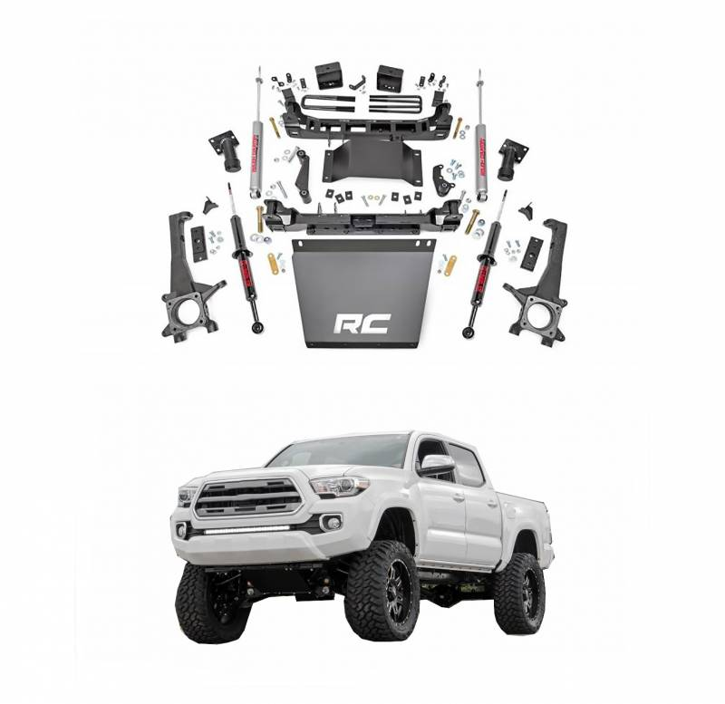 Rough Country 6 In Suspension Lift Kit with Lifted Front