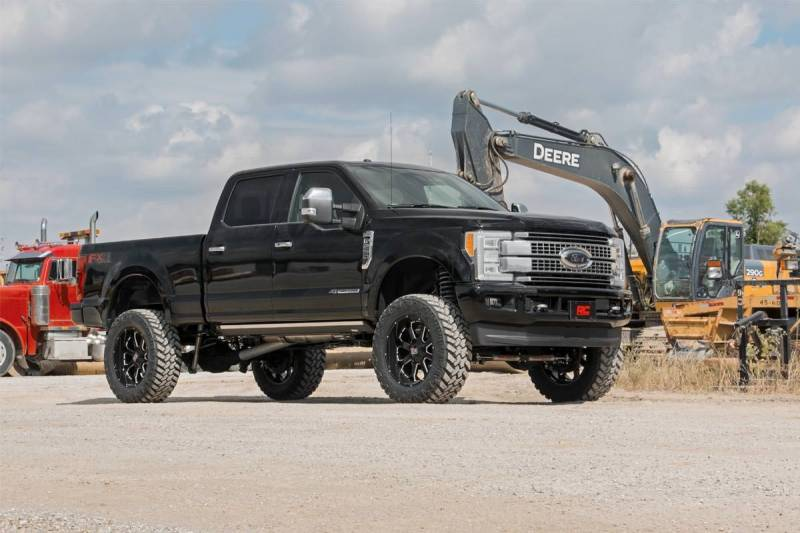 F250 6.7 Powerstroke >> Rough Country 6 In Suspension Lift Kit With Factory Rear