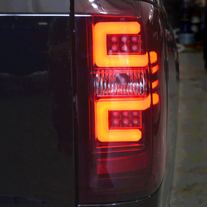 Recon Red Smoke Led Tail Lights 2014 2017 Chevy