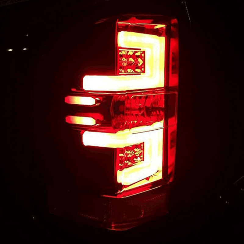 Recon Red Led Tail Lights 2014 2017 Chevy Silverado