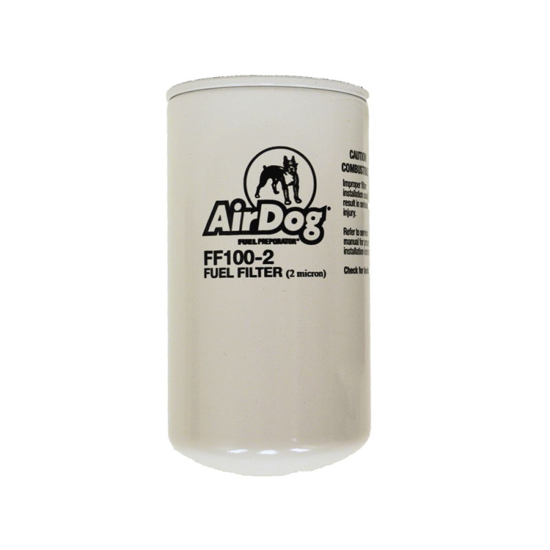 airdog replacement fuel filter 2 micron ff100 2 dales super store. Black Bedroom Furniture Sets. Home Design Ideas