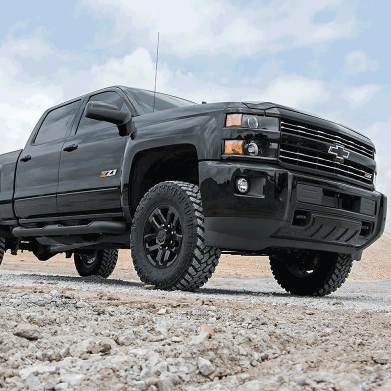 Silverado 3.5 Lift >> Rough Country 3.5 In Bolt-On Suspension Lift Kit for 2011-2018 Sierra/Silverado 2500HD/3500HD ...