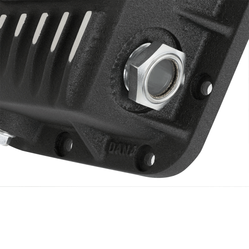 aFe Power Black Pro Series Rear Differential Cover w ...